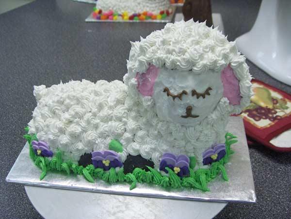 Pin Wilton Easter Egg Cake Decorating Cake on Pinterest
