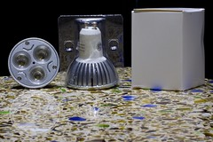 lampy sufitowe led metal