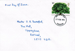 27-Feb-1974 UK First Day Cover