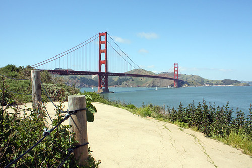 Hiking in the Presidio, San Francisco