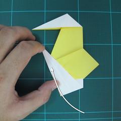 วิธีการพับกระดาษรูปม้าน้ำ (Origami Seahorse) 024
