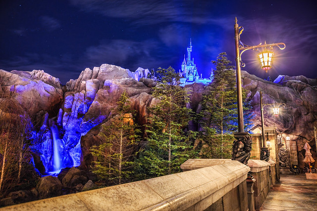 The Beast's Castle at Night