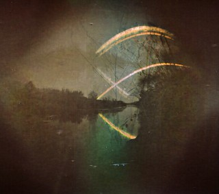 Solargraphy over Xuquer River at @TOTESTIU, Sumacarcer, Valencia (Spain) The pinhole camera was moved during the exposure. Solargraphy Solarigrafia Pinhole Camera Estenopeica