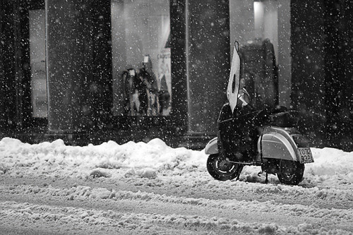 Vespa forsnow by VirtualAis { www.77click.it }