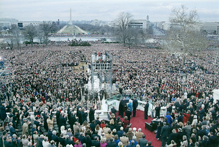 1989 Presidential Inauguration, George H. W. Bush, Opening Ceremonies, Capitol, Swearing In
