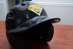 football--equipment and supplies(0.0), clothing(0.0), goggles(0.0), motorcycle helmet(0.0), helmet(1.0), personal protective equipment(1.0), black(1.0), headgear(1.0),