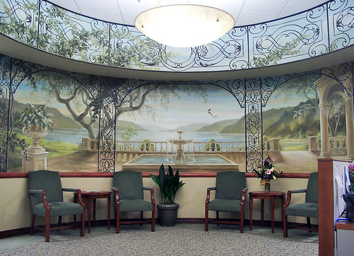 Waiting area, Cancer Treatment Centers of America