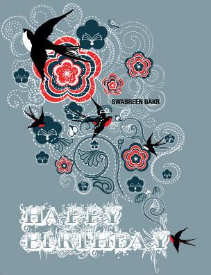 Stationary Design: Birthday card | Flickr - Photo Shari
