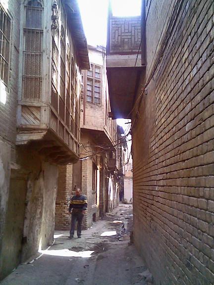 Old Baghdad side streets