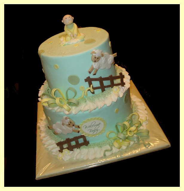 Living Room Decorating Ideas: Baby Shower Cakes For Unisex