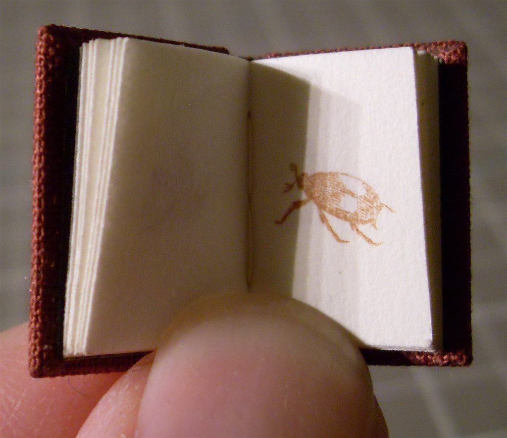 Handbound letterpress Miniature Book