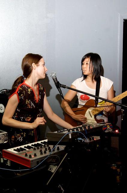 Sarah Luce and Henna Chou