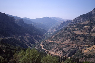 05 Road from Diakofto to Kalavryta