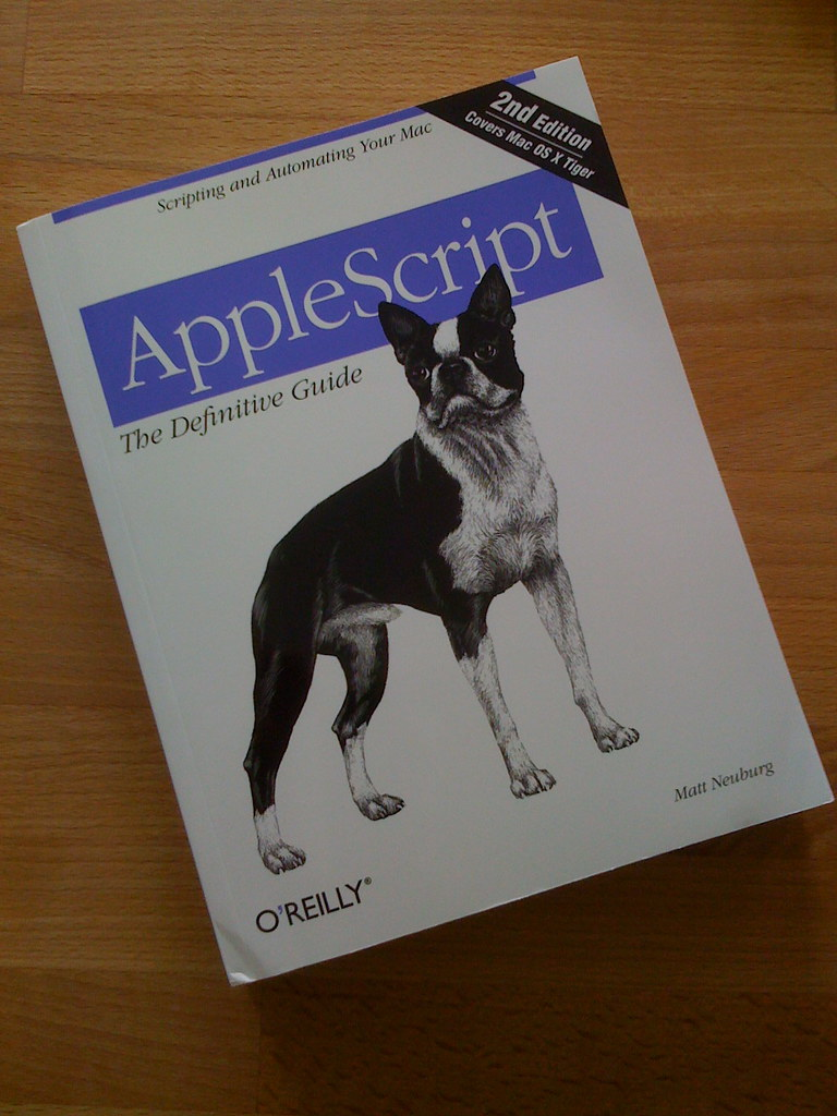 New Nerd Book | You would think that AppleScript is easy  I … | Flickr