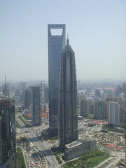 Shanghai Pudong (Pearl, JinMao and World Financial Centres)