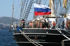 Die Krusenstern, Segelschulschiff der russischen Ausbildungsflotte (2009); Photo: Contando Estrelas / flickr