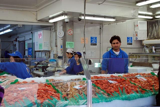 Prawns - Sydney Fish Market