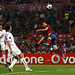 Róma, 2011. május 27. Lionel Messi az Fc Barcelona 2. gólját fejeli az UEFA Bajnokok Ligája döntőjében a Manchester United ellen a Stadio Olimpico stadionban