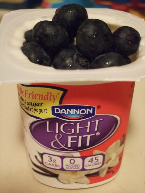 Dannon Light Amp Fit Diabetic Friendly Yogurt With Some