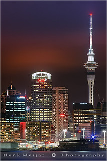 Auckland by Night - New Zealand