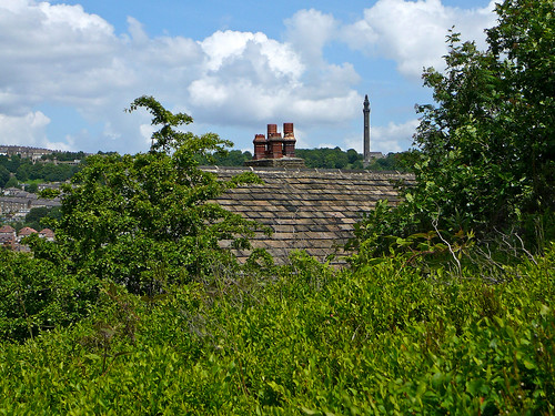 Wainhouse Tower and rooftop