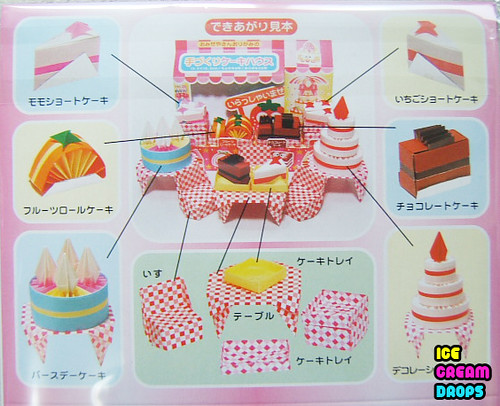 Kawaii food papercraft templates car interior design for Cute papercraft templates