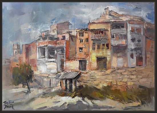Aitona lleida castell castillo pinturas ernest descals a photo on flickriver - Pintores en lleida ...