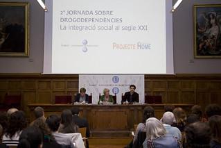 """07/05/2010 2a Jornada de drogodependències """"La integració social al segle XXI"""""""