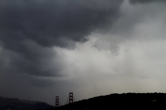 rain clouds over SF, May 16, 2011