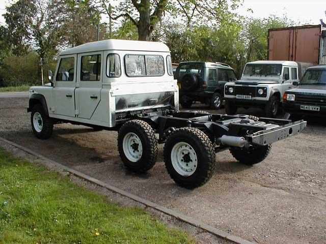 Land Rover Defender 6x6 Flickr Photo Sharing