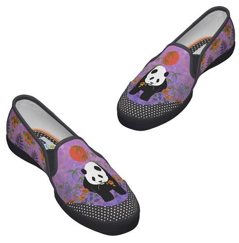 quot panda poppy purple original keds tennis shoe