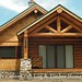 Exterior of a Custom Log Home | Located in Oregon | PrecisionCraft Log Homes