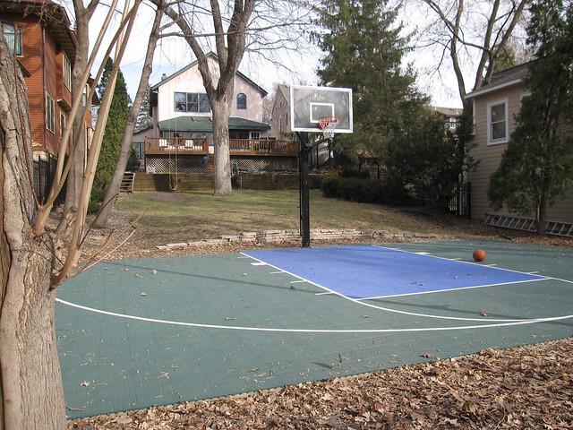 Backyard Basketball Half Court Dimensions 2017 2018