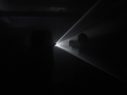 casino knokke - Line Describing a Cone (Anthony McCall)