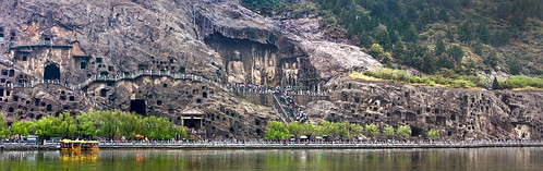 David Reed's photo of the Longmen Grottoes