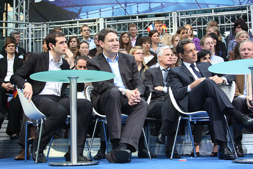 Benjamin Lancar, Philipp Mißfelder, Nicolas Sarkozy