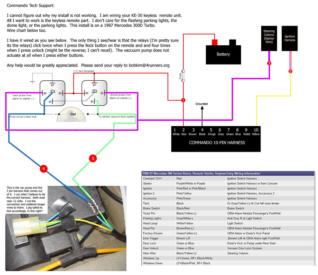 Keyless Entry -- W124 - Page 2