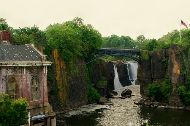 The Great Falls In Paterson NJ