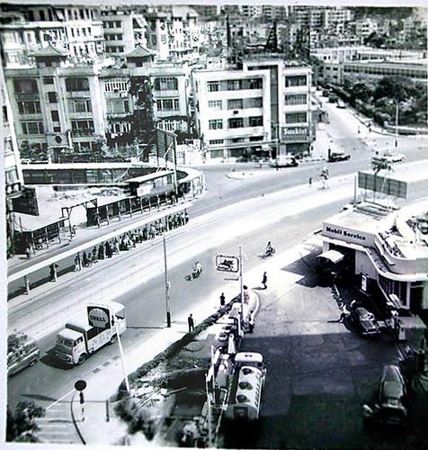 1950s streetscene