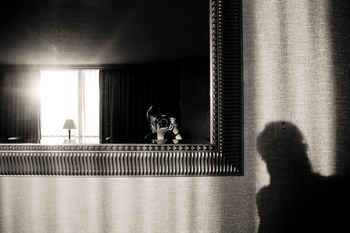 shadow selfportrait reflection rio sunrise lasvegas hotelroom project365 flickrcallsthistheasiandistricthaha