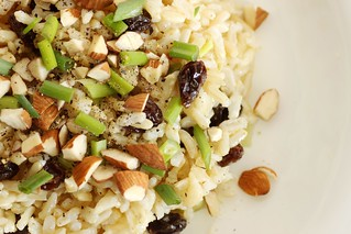 'brown rice salad' by Stacy Spensley