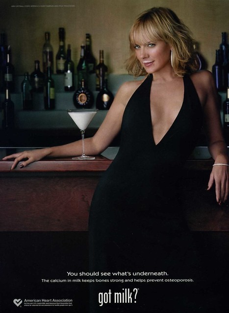 Kim Cattrall - Got Milk 2002