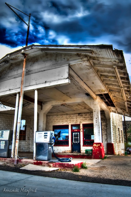 Abandonded Peach Springs Gas Station