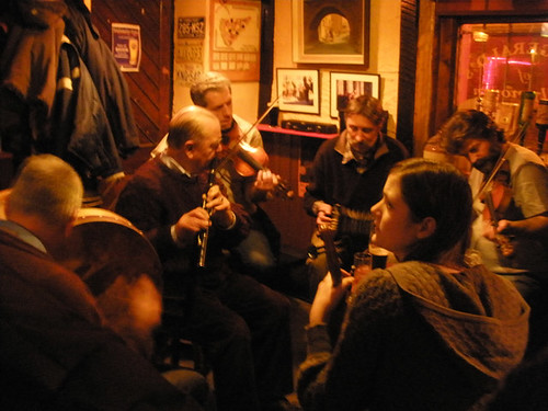 The Harbour Bar trad. session