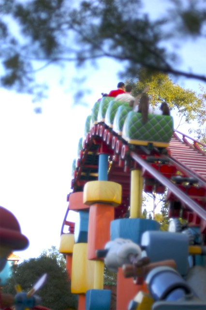 Toontown Rollercoaster Flickr Photo Sharing