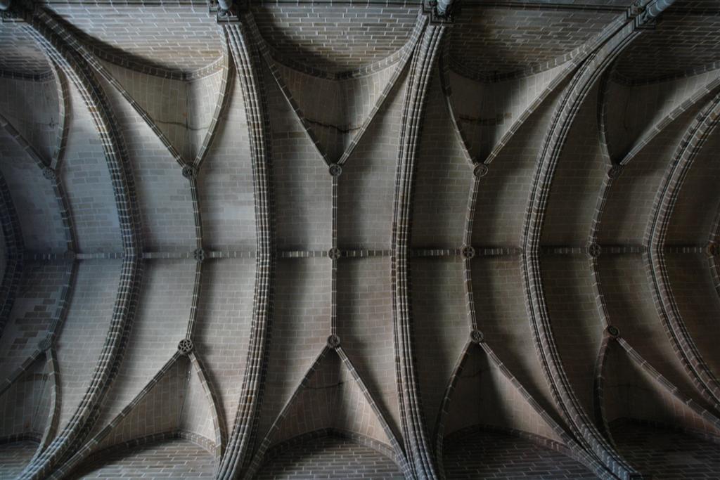 Techo de la iglesia de San Francisco Évora, y su siniestra Capilla de los Huesos - 3306848752 e8806a954c o - Évora, y su siniestra Capilla de los Huesos