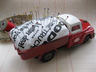 Truck Pincushion