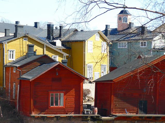 Fotos de Finlandia: Porvoo en Primavera