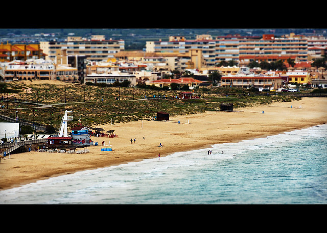 Tilt-Shift La Mata