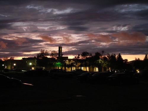 light sunset sky color college weather clouds campus evening university monroe 2008 ulm studentunion universityoflouisianaatmonroe